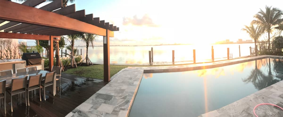 Miami Paradise with a Pool & Stunning View in Miami Shores Hero Image in undefined, Miami Shores, FL