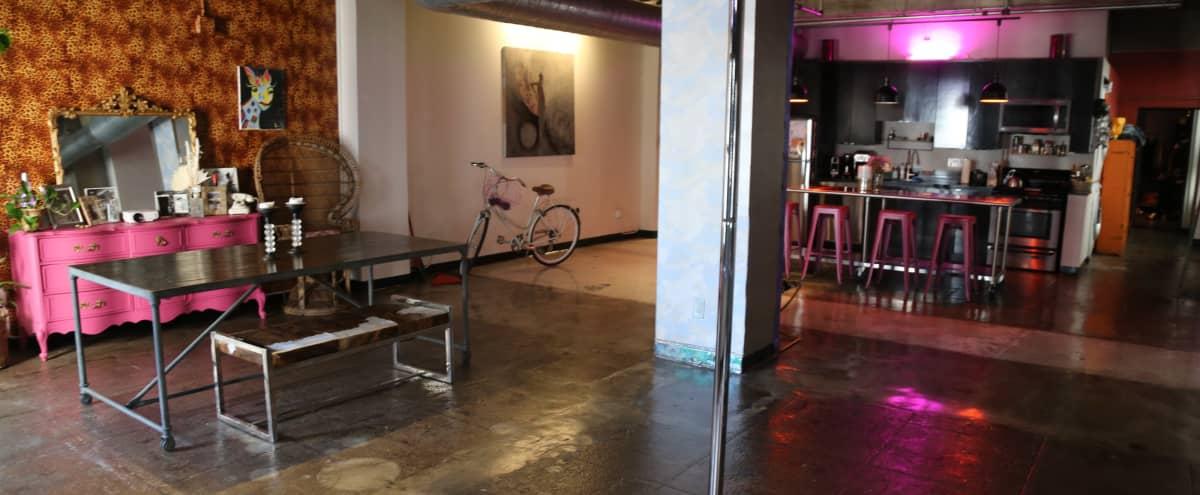 Eclectic, Colorful, Music Loft in heart of Fashion District in LA Hero Image in Central LA, LA, CA