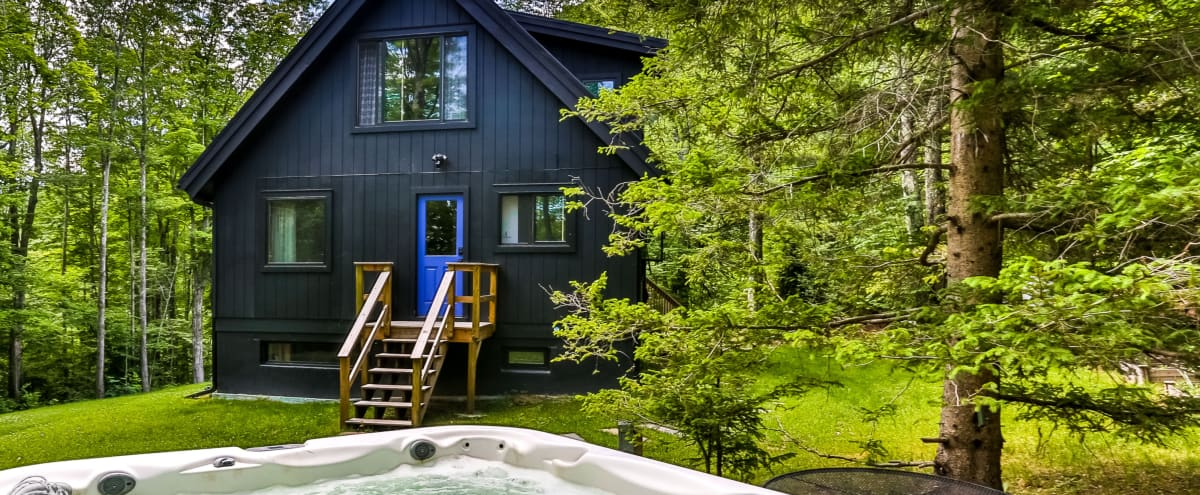Modern and Private Mountain House in Hunter Hero Image in undefined, Hunter, NY