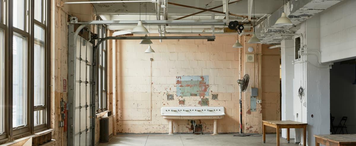Industrial Workshop Space with Plenty of Natural Light | Film + Photo Shoots in Philadelphia Hero Image in East Passyunk Crossing, Philadelphia, PA