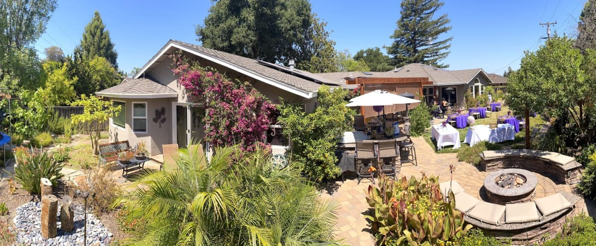 Bright and airy suburban house with large patio and gardens in Saratoga Hero Image in Saratoga Woods, Saratoga, CA