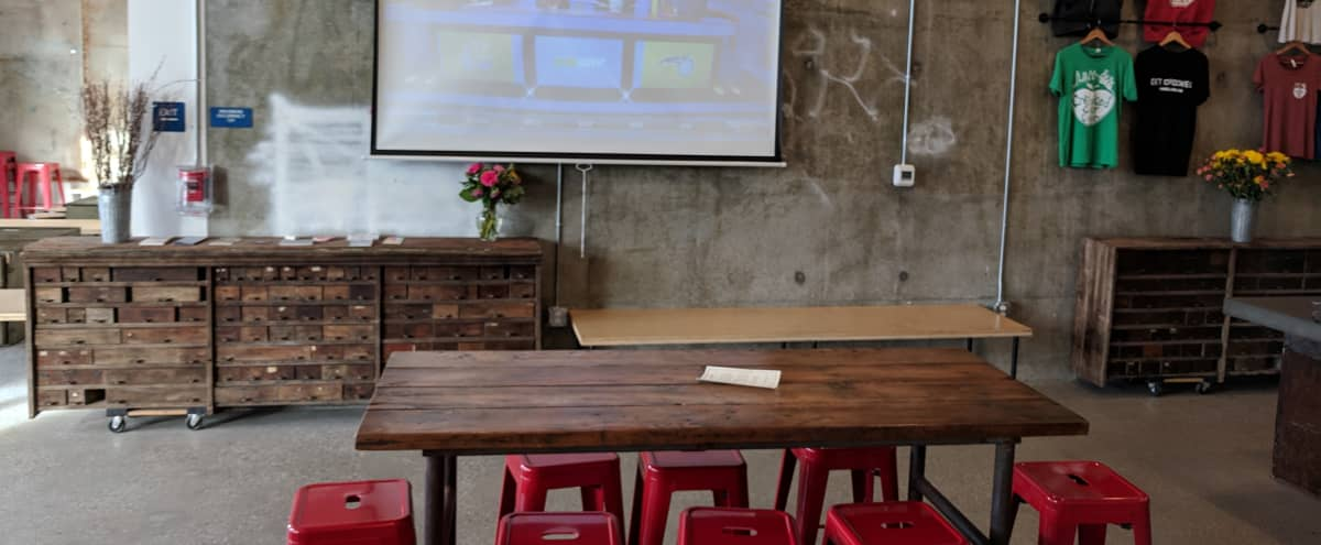 Eclectic Fun Offsite & Meeting Location with Bar & Games in Oakland Hero Image in Downtown Oakland, Oakland, CA