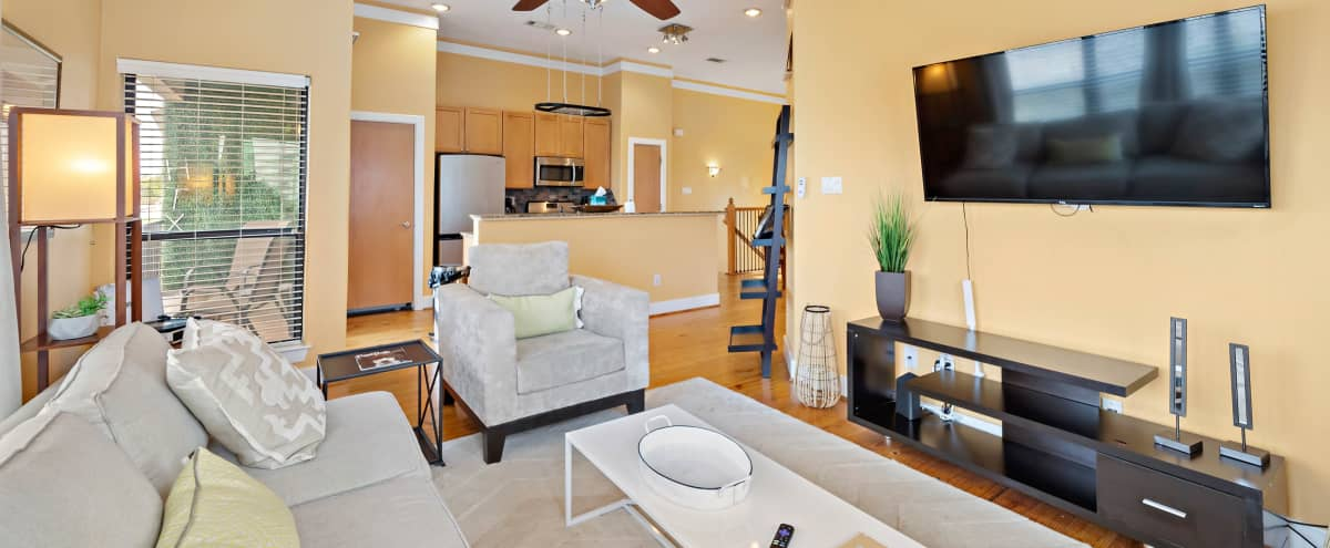 Natural Light | Midtown Townhome in Houston Hero Image in Greater Third Ward, Houston, TX