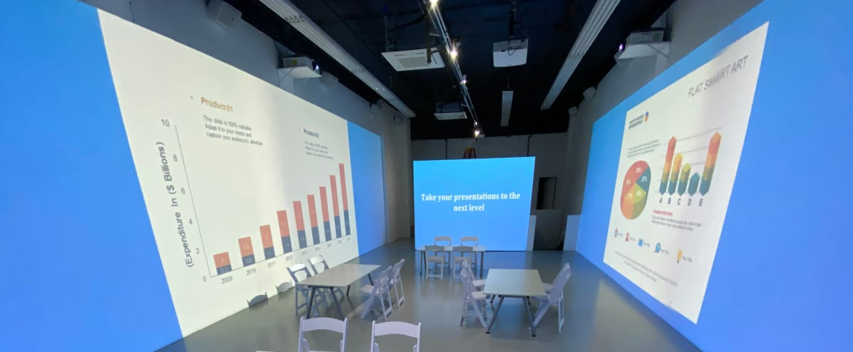 360 Video Presentation and Meeting space in New York Hero Image in Tribeca, New York, NY