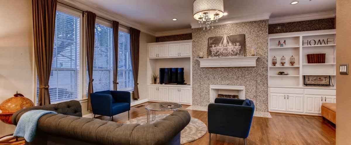 In Heart of Uptown Elegant and Modern Home in Dallas Hero Image in Oak Lawn, Dallas, TX