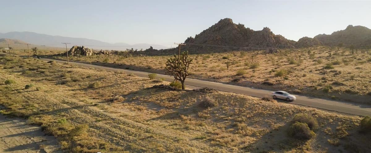 25-Acre Desert Land with Cabin & Rock Formations in Lancaster Hero Image in undefined, Lancaster, CA