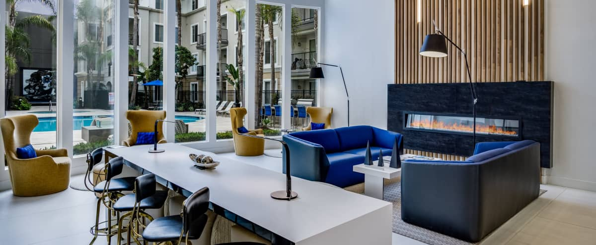 Beautiful and Modern Club Lounge in Marina Del Rey Hero Image in undefined, Marina Del Rey, CA