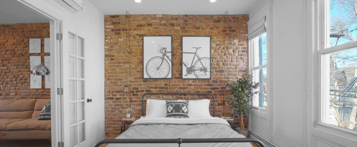 brickwall apartment in Jersey City Hero Image in West Side, Jersey City, NJ