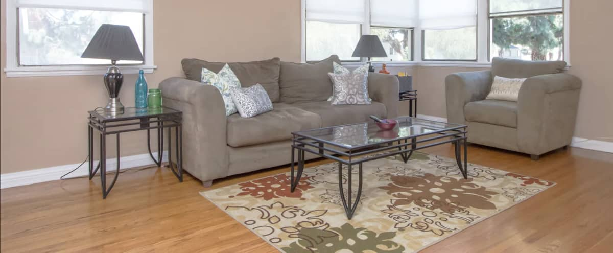 Casually Urban Apartment with a Cool Vibe in Los Angeles Hero Image in Leimert Park, Los Angeles, CA