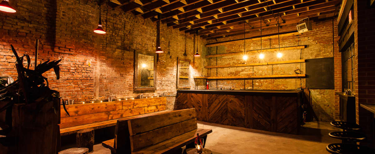Spacious Urban Brooklyn Bar Loft For Private Events or Shoots/ Filming in Brooklyn Hero Image in Bedford-Stuyvesant, Brooklyn, NY