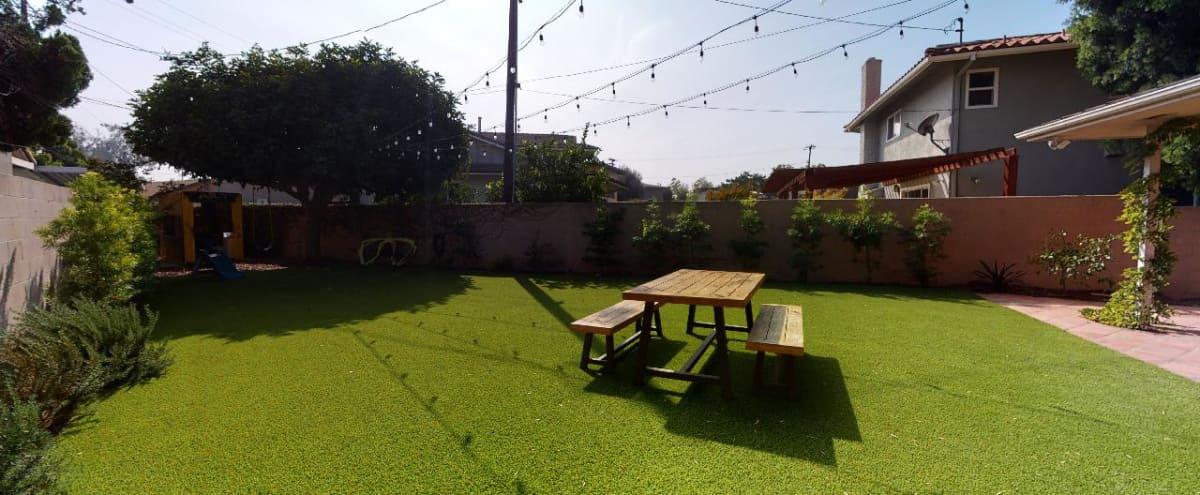 Large Green Turf Backyard in Culver City Hero Image in Park West, Culver City, CA