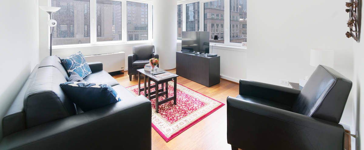 PRODUCTION ONLY: One bedroom on Fifth avenue in New York Hero Image in Midtown, New York, NY