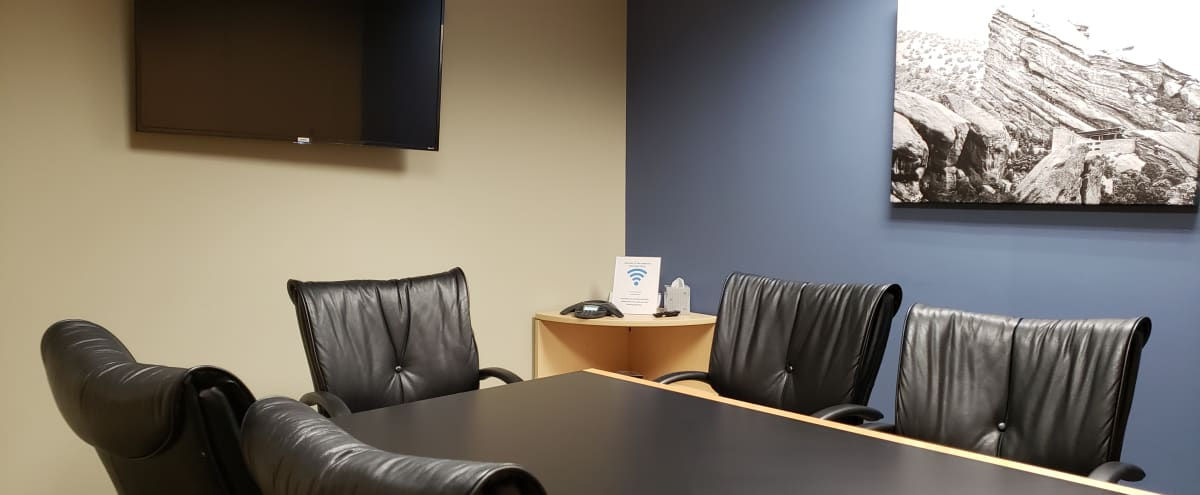 Private Meeting Room for 6-8 People With TV in LAKEWOOD Hero Image in Union Square, LAKEWOOD, CO