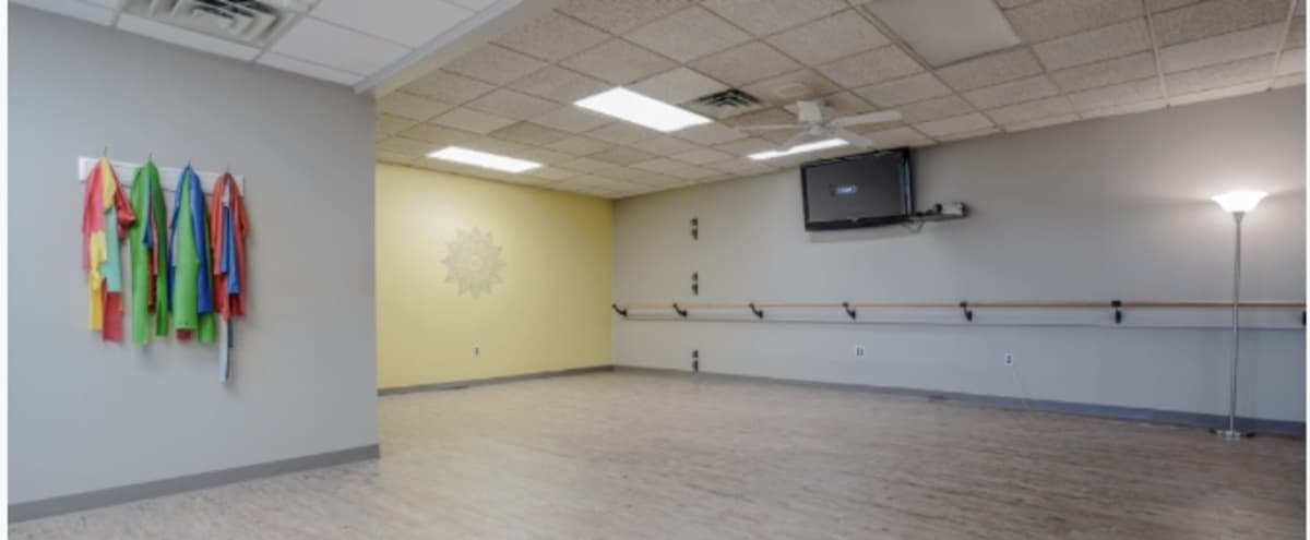 Open Layout Yoga Studio Conveniently Located in Philadelphia in Philadelphia Hero Image in Northeast Philadelphia, Philadelphia, PA
