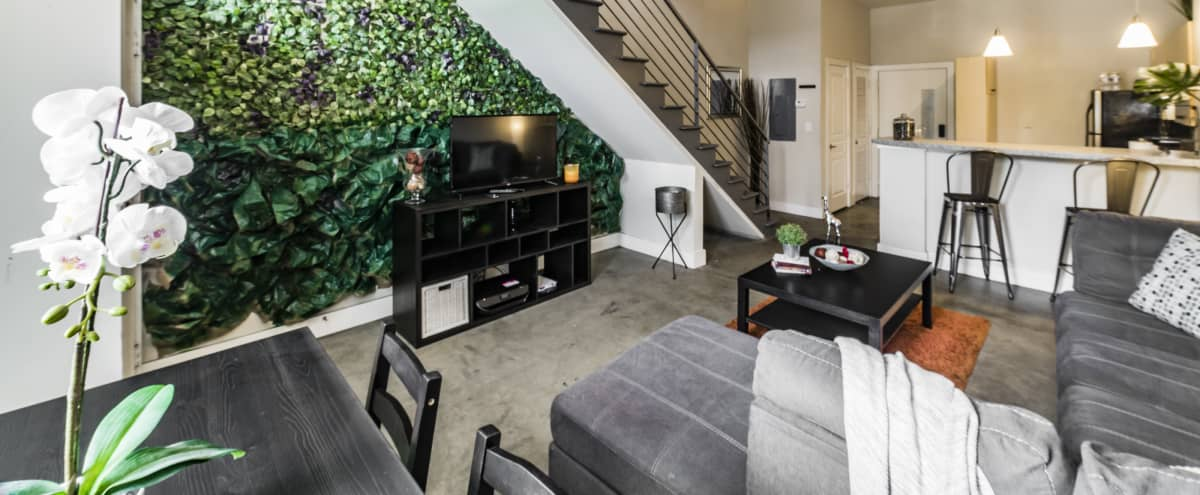 West Midtown Loft with Walking Shops, Bars, & Amenities in Atlanta Hero Image in Marietta Street Artery, Atlanta, GA