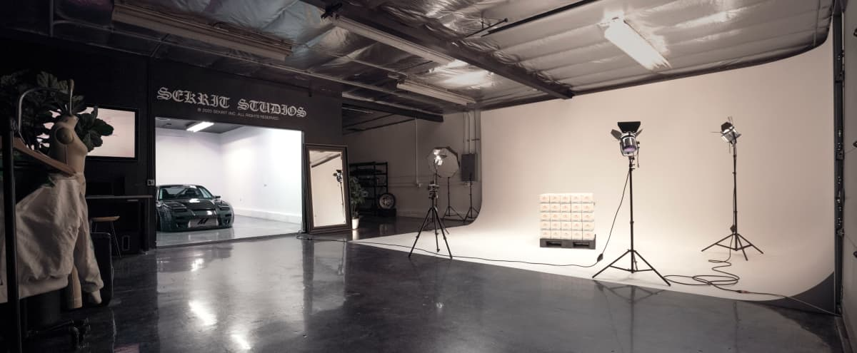 Monochromatic Multimedia Photo/Video Studio in North Hollywood Hero Image in Valley Glen, North Hollywood, CA