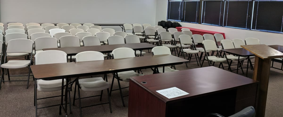 Large classroom perfect for hosting your very own weekly, monthly paid classes! Can be arranged in a variety of ways! in Colton Hero Image in Cooley Ranch, Colton, CA