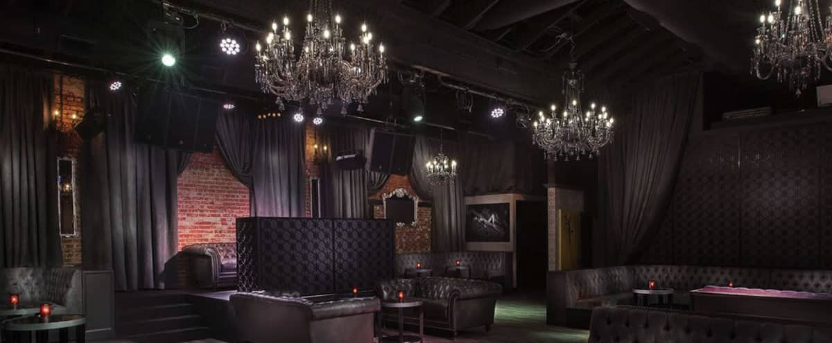 A Seductive French Noir Event Space Located in the Heart of Hollywood in Los Angeles Hero Image in Hollywood, Los Angeles, CA