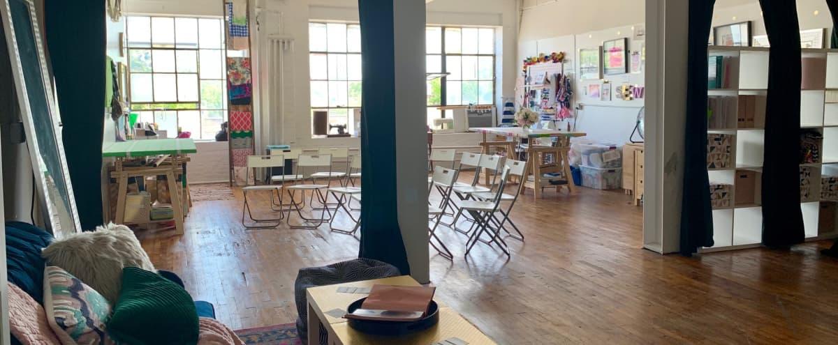Industrial Studio with Gorgeous Hardwood Floors & Natural Light in Baltimore Hero Image in Bentalou-Smallwood, Baltimore, MD