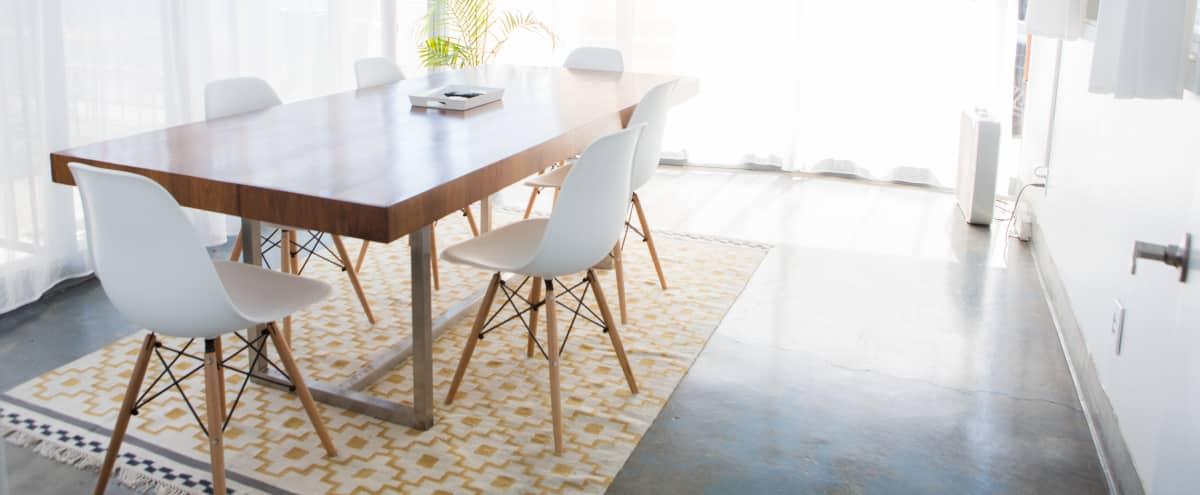Modern conference room with natural light and sunny patio for lunch in Alameda Hero Image in undefined, Alameda, CA