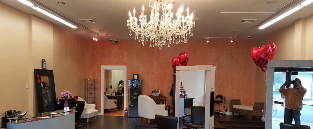 Spacious, great lighting, High ceilings huge upscale hair salon in Cambria Heights Hero Image in Cambria Heights, Cambria Heights, NY