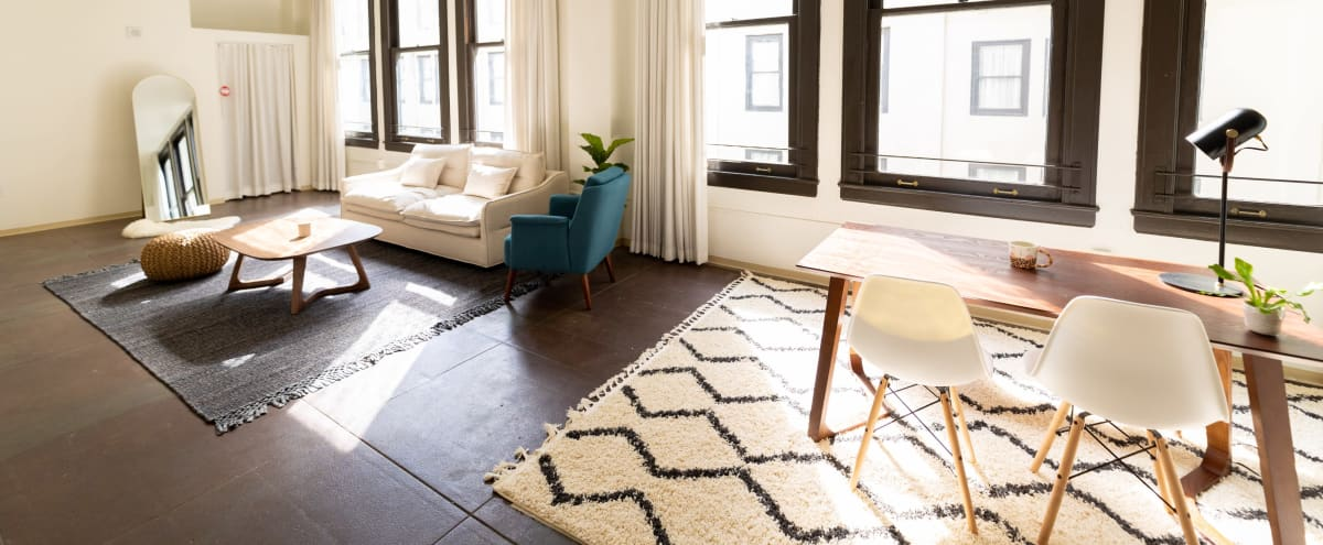 Well-lit, Hip Modern Downtown Loft with Awesome Lighting in Los Angeles Hero Image in Central LA, Los Angeles, CA