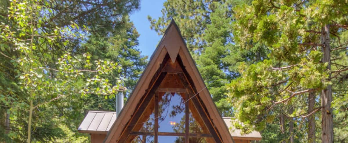 The Tahoe A Frame | West Shore, Lake Tahoe | Updated, Rustic, Chic in Homewood Hero Image in undefined, Homewood, CA