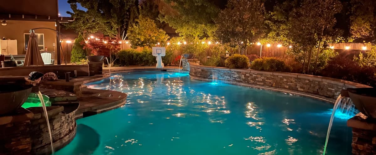 Beautiful Large Backyard Oasis in Mather Hero Image in Mather, Mather, CA