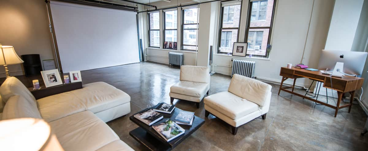 Fantastic Midtown Art Studio with skyline views in New York Hero Image in Midtown, New York, NY