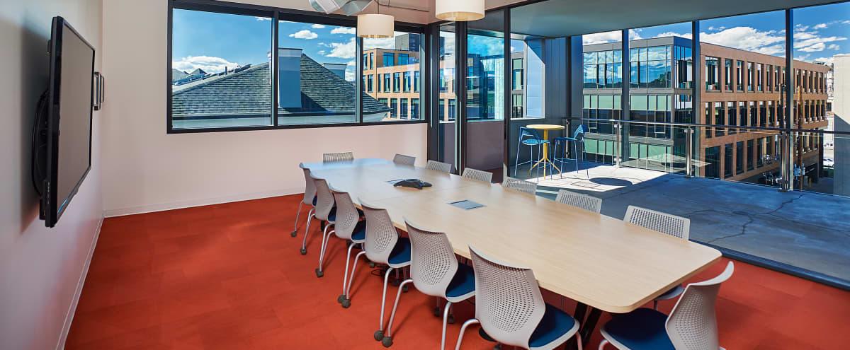 Sleek Modern Conference Room in Denver Hero Image in Highland, Denver, CO