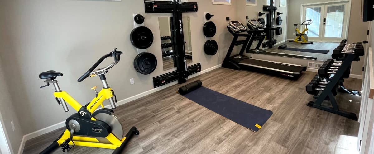 Bright, Airy, and Modern Private Fitness Studio in Redmond Hero Image in Education Hill, Redmond, WA