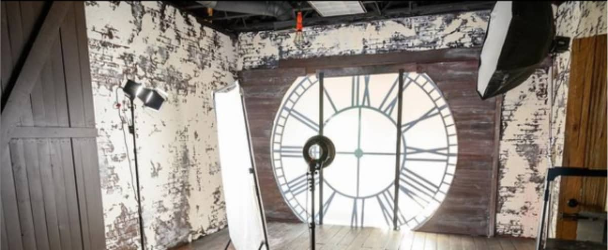Production Studio: Cyclorama, Dungeon, Clock Tower, Haunted House, Boiler Room, Fairy Forest and Seamless backdrops. in Las Vegas Hero Image in undefined, Las Vegas, NV