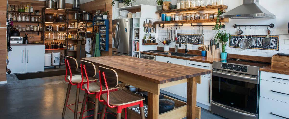 Beautiful Brooklyn Kitchen Studio for Your Cooking Show or Food Photo Shoot in brooklyn Hero Image in Gowanus, brooklyn, NY