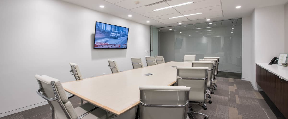 Large Elegant Conference Room for 12 in Washington DC Hero Image in Downtown, Washington DC, DC
