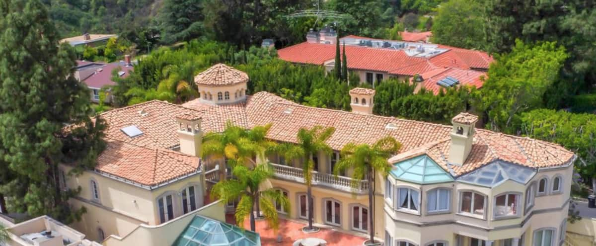 The Stradella Court Mansion in Los Angeles Hero Image in Bel Air, Los Angeles, CA