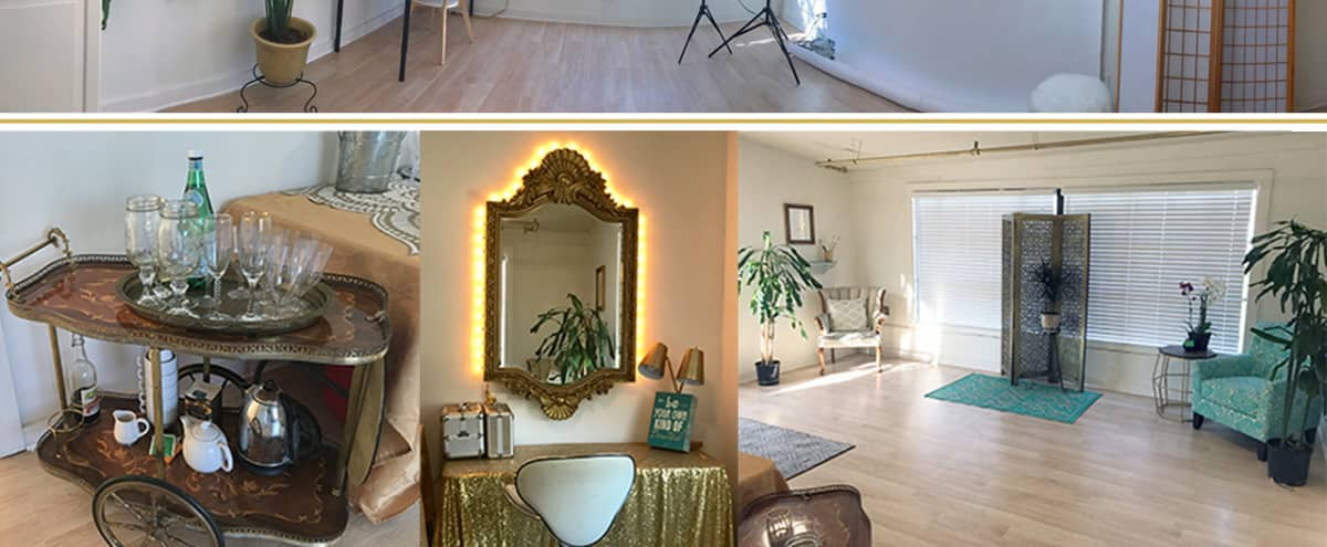 Bright clean Photo Studio with large Make Up Room / Lounge in Berkeley Hero Image in Northwest Berkeley, Berkeley, CA