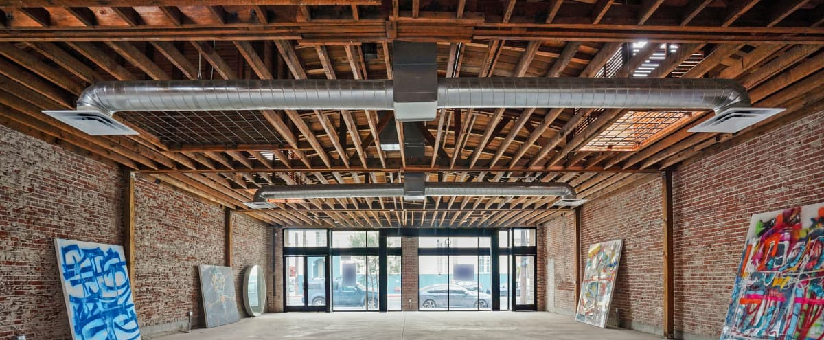 Warm, Retro, and Rustic Brick Warehouse/Event Location in Los Angeles Hero Image in Central LA, Los Angeles, CA