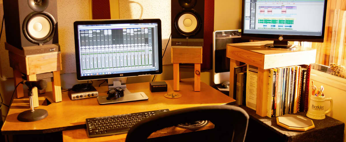 Private Creative Production Space and Recording Studio in Daly City Hero Image in Westlake, Daly City, CA
