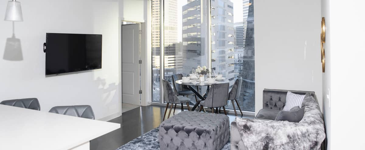Luxurious Condo with City and Mountain Views in denver Hero Image in Central, denver, CO