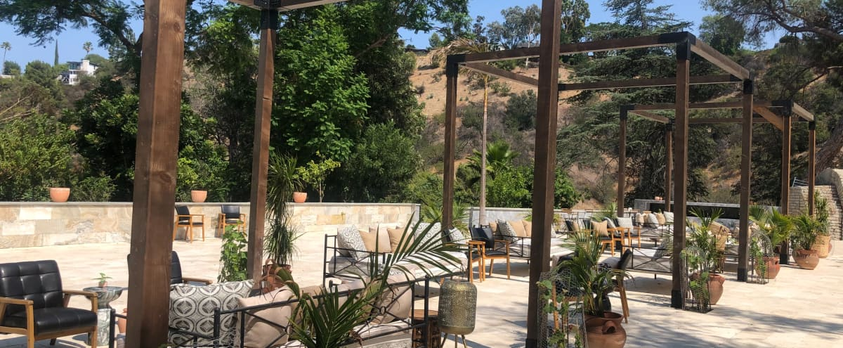 Unique Designer Space with Stunning Natural Backdrops, Pool, Shale Cliffside in Sherman Oaks Hero Image in Sherman Oaks, Sherman Oaks, CA