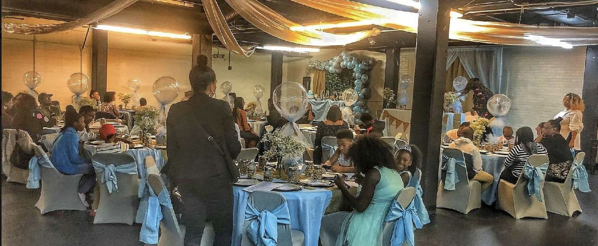 Large Multipurpose Event Space with Free Parking Minutes away from Uptown in Charlotte Hero Image in Seversville, Charlotte, NC