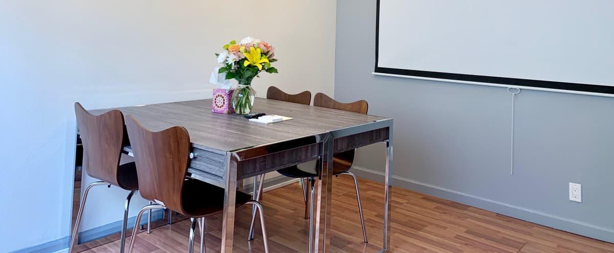 Santana Row cozy meeting room in a coworking space in San Jose Hero Image in West Valley, San Jose, CA