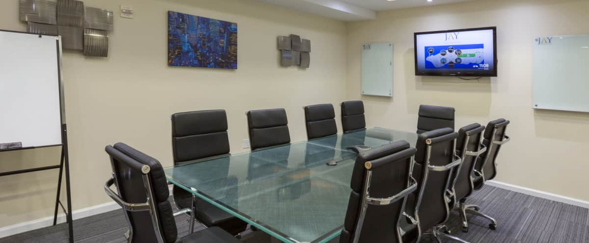 Large Meeting Room for 12 in Manhattan's Financial District - Meeting Room A - NOW 50% OFF in NEW YORK Hero Image in Financial District, NEW YORK, NY