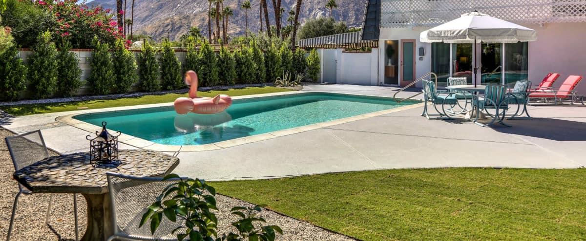 Hollywood Regency Style Mid Century Modern with Celebrity History and Views in Palm Springs Hero Image in undefined, Palm Springs, CA