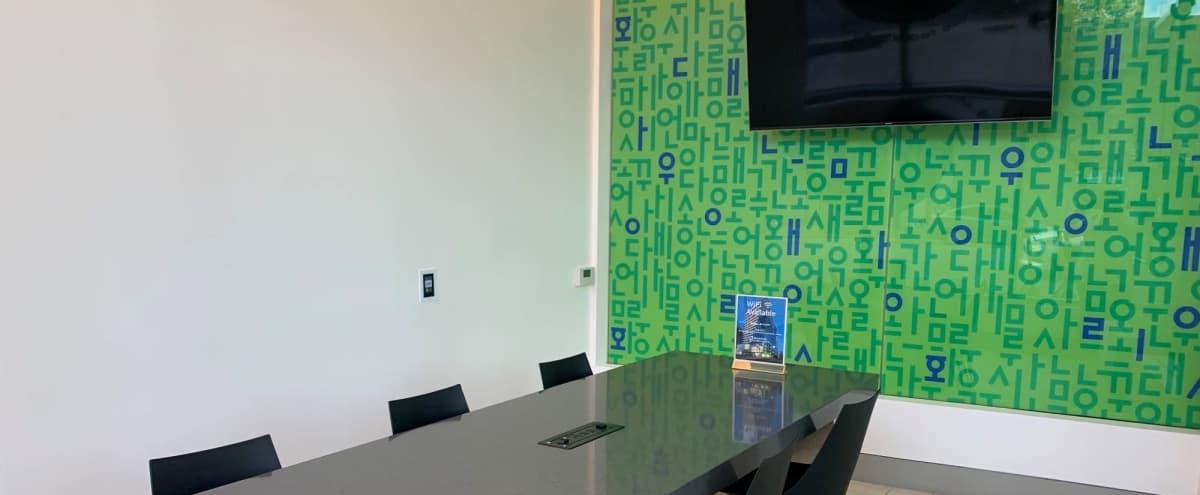 Modern Executive Conference Room in Los Angeles Hero Image in Central LA, Los Angeles, CA