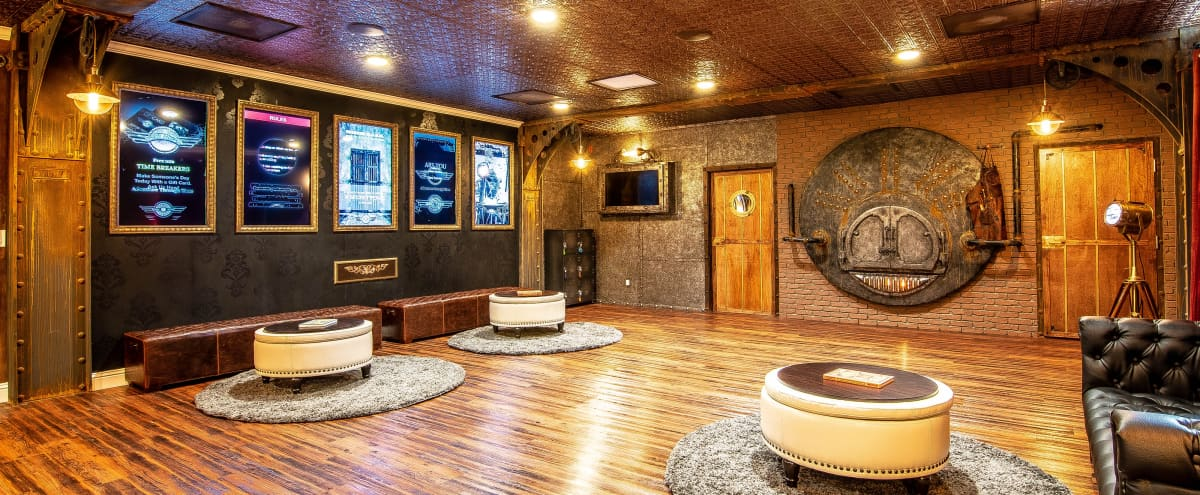 Stunning Steampunk-Themed Space with Multiple Unique-Themed Rooms With Ample Backdrops in San Jose Hero Image in Central San Jose, San Jose, CA