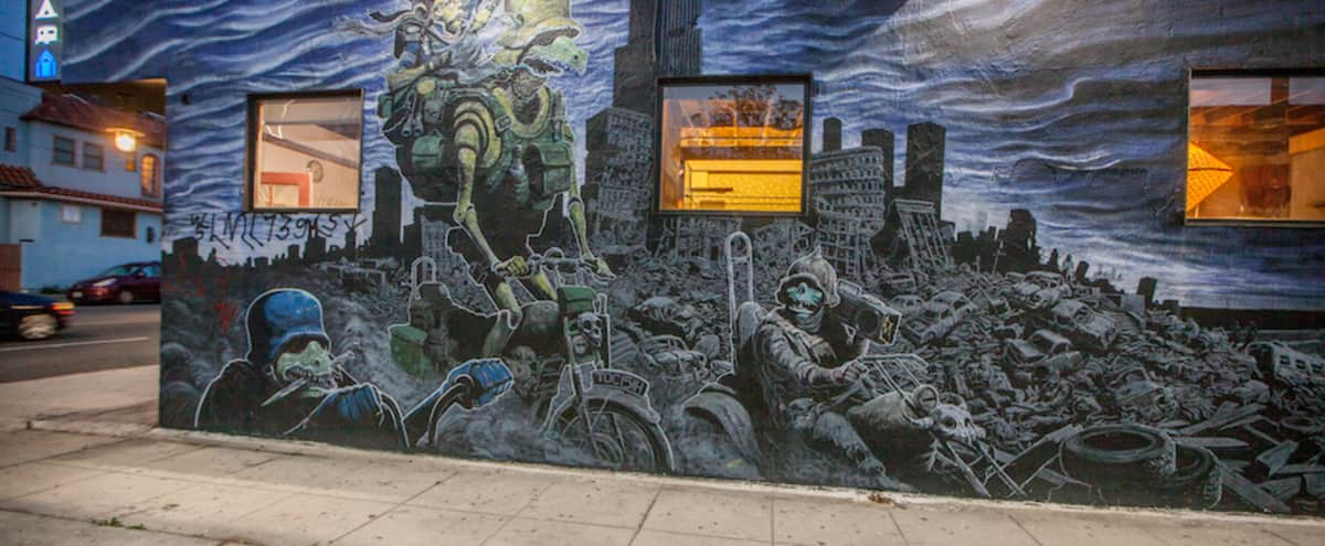 Storefront + Eccentric Living Space in los angees Hero Image in Central LA, los angees, CA