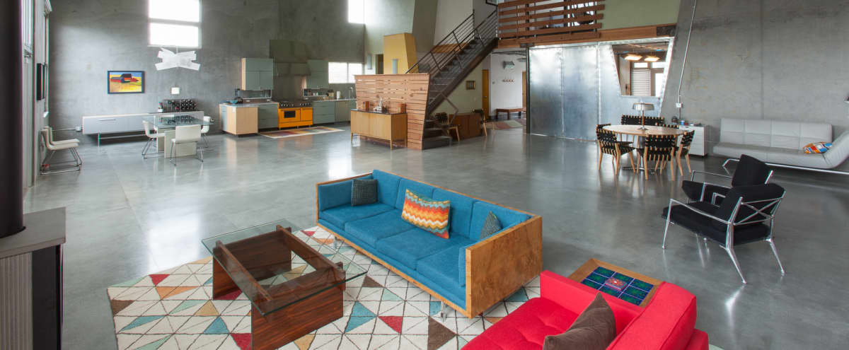 Bright spacious loft space with private patio near the ocean in Santa Cruz Hero Image in undefined, Santa Cruz, CA