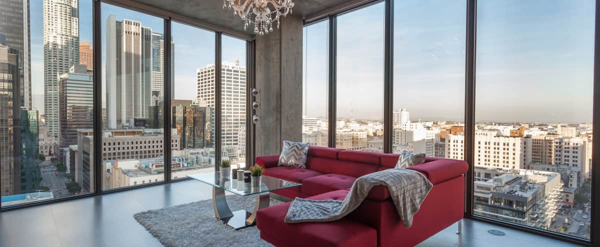 Urban DTLA Floor To Ceiling Windows Penthouse in Los Angeles Hero Image in South Park, Los Angeles, CA