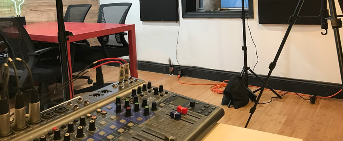 Functional Podcast Studio/Photo/Video in Brooklyn Hero Image in Crown Heights, Brooklyn, NY